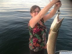 fall pike fishing