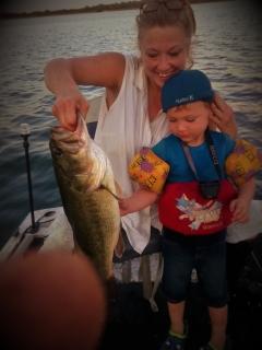 Kincaid Lake, Louisiana 5.85 lb. Bass