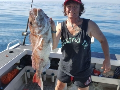 17.6lb caught outside entrance to tauranga mount maunganui