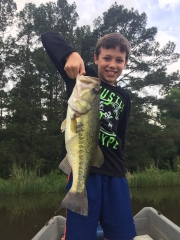 Hudson Martin, Age 11,caught April 17, 2017