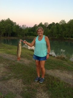 1st time to catch a Bowfin