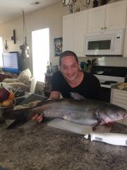 25 pound catfish.