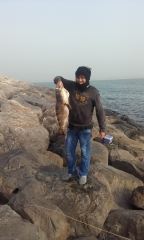Back to Fishing... After First strike... go home... Enough 5.34kls.