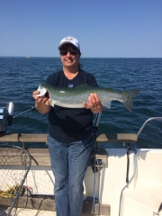 King salmon Lake Superior