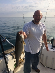 Doug Nicholson first time fishing!!