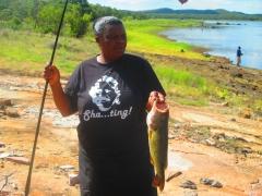 my wife's catch