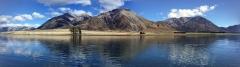 Lake Grasmere, NZ - perfect trout fishing scenery