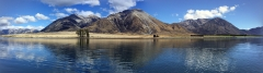 Lake Grasmere, NZ - perfect trout fishing scenery