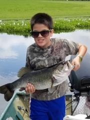 Ryan's first bass!