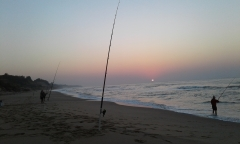 The Fishings been terrible...but the sunrises have been majestic.....