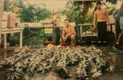 The Memories of fishing with friends and family.