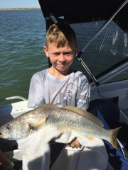 Jakson with a great Mulloway