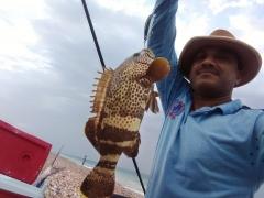 Abhijith fishing at Dhabab
