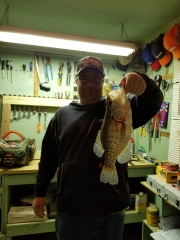 First crappie of the year