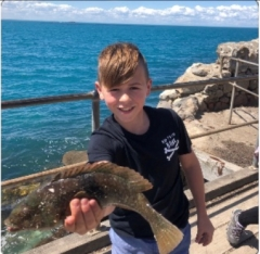 Jacko with a Victor Harbour Wras