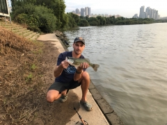 Nice Bass at the Han River, Seoul
