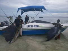 PANAMWE TOURS & SAFARIS FISHING IN ZANZIBAR