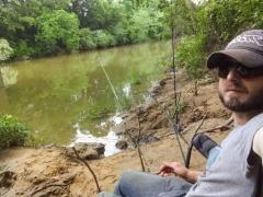 Cat fishing in Sipsy, AL