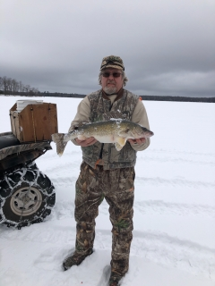 Walleye's are biting!