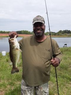 3.5 lb Bigmouth Bass