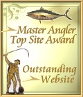 Fishing Reporters Master Angler Top Site Award